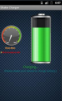 Shake Charger (Phony) apk screenshot