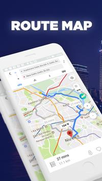 GPS Route Finder & Weather Maps, Live Street View poster