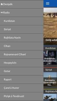 Rojava News apk screenshot