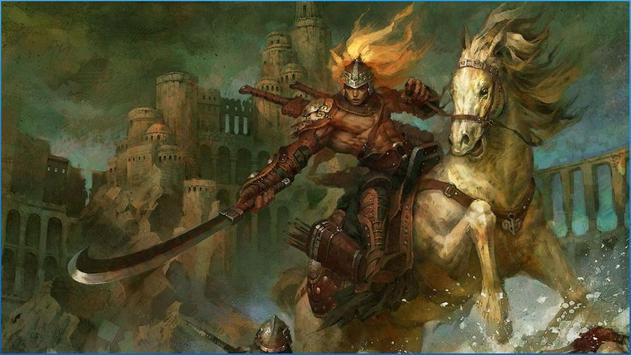 Fantasy Battle Wallpapers poster