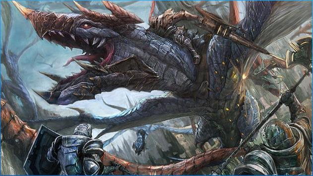 Fantasy Battle Wallpapers apk screenshot