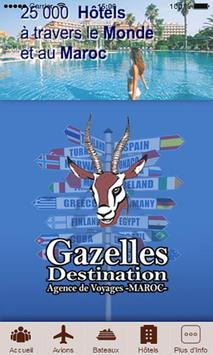 Gazelles Destination poster