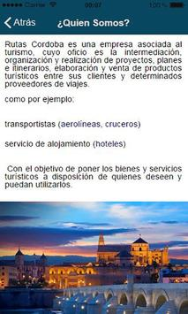 Rutas Córdoba apk screenshot