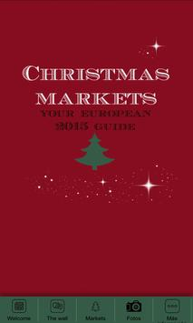 Christmas Markets Europe poster