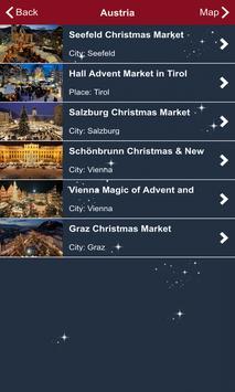 Christmas Markets Europe screenshot 4