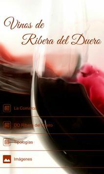 Vinos Ribera del Duero poster