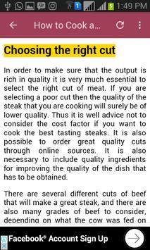 How to Cook a Good Steak apk screenshot