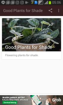 Good Plants for Shade apk screenshot