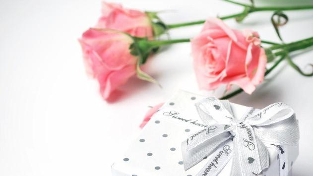Flower Gift Wallpaper screenshot 8