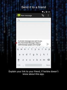 Send Safe Message apk screenshot