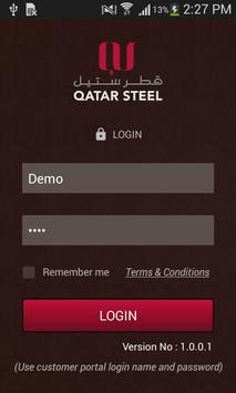 Qatar Steel Sales App poster