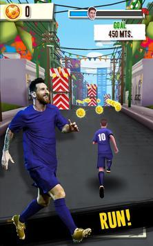 Messi Runner poster