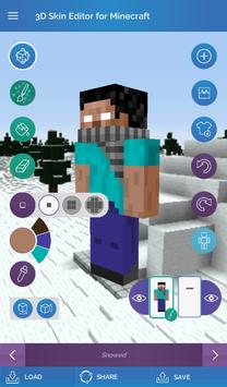QB9's 3D Skin Editor for Minecraft screenshot 11