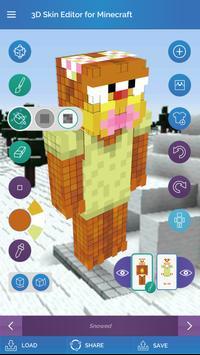 QB9's 3D Skin Editor for Minecraft screenshot 15