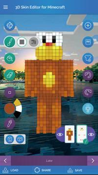 QBs D Skin Editor For Minecraft APK Download Free Entertainment - Skins para minecraft pe fantasma