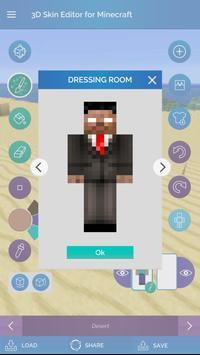 QB9's 3D Skin Editor for Minecraft screenshot 3