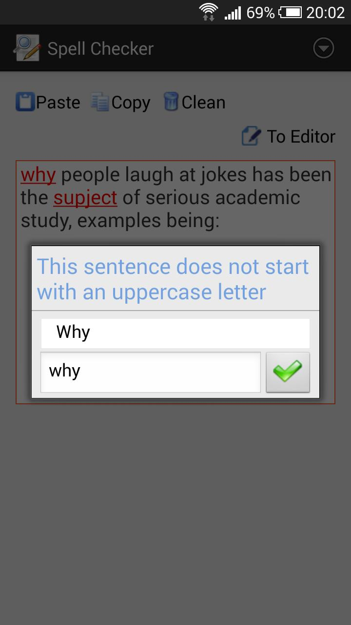 Spell checker for Android - APK Download
