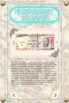 Fake Money Scanner Prank apk screenshot
