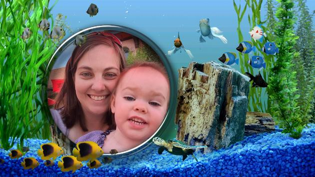 Aquarium Photo Frames apk screenshot