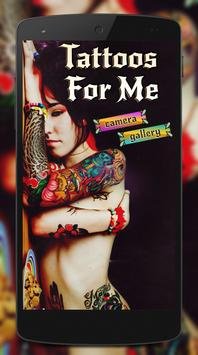 Tattoos For Me poster