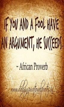 African Proverbs Lite poster