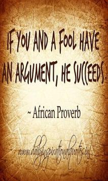 African Proverbs Lite apk screenshot