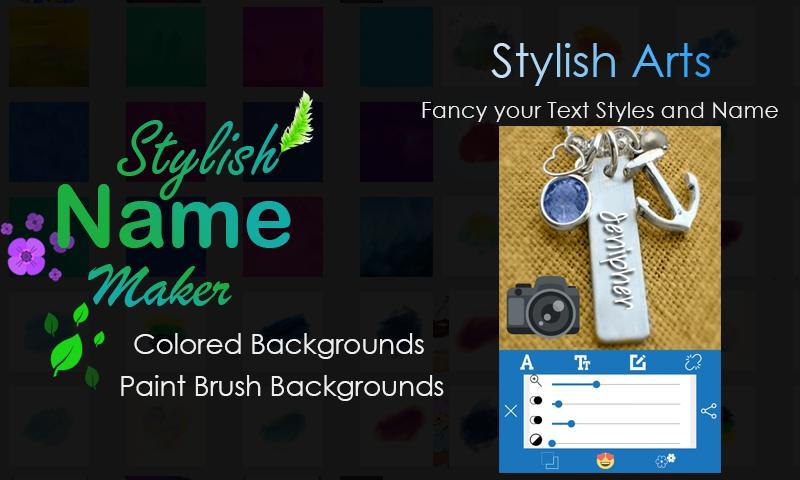 Stylish Name Maker poster