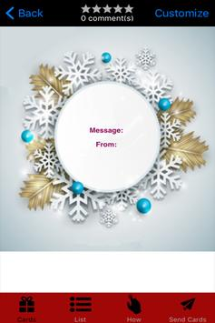 Christmas Greeting Card poster