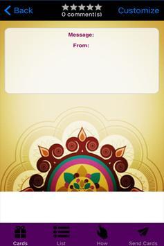Deepavali Greeting Cards screenshot 2