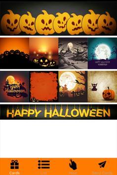 Halloween Greeting Card poster