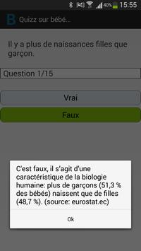 Quiz Grossesse screenshot 1