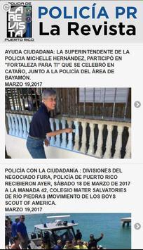 Policia Puerto Rico la Revista poster