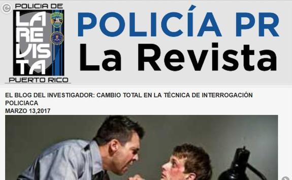 Policia Puerto Rico la Revista screenshot 2