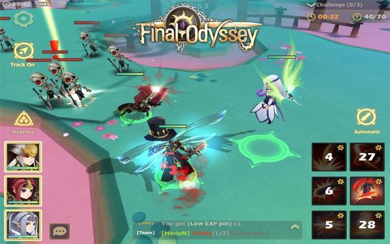 Final Odyssey - 3D ARPG apk screenshot