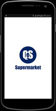 QeS Supermarket poster