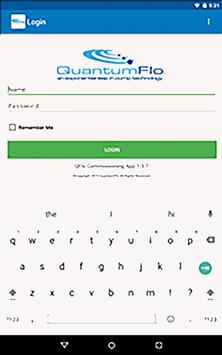 QuantumFlo Commissioning screenshot 3
