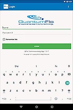 QuantumFlo Commissioning screenshot 1