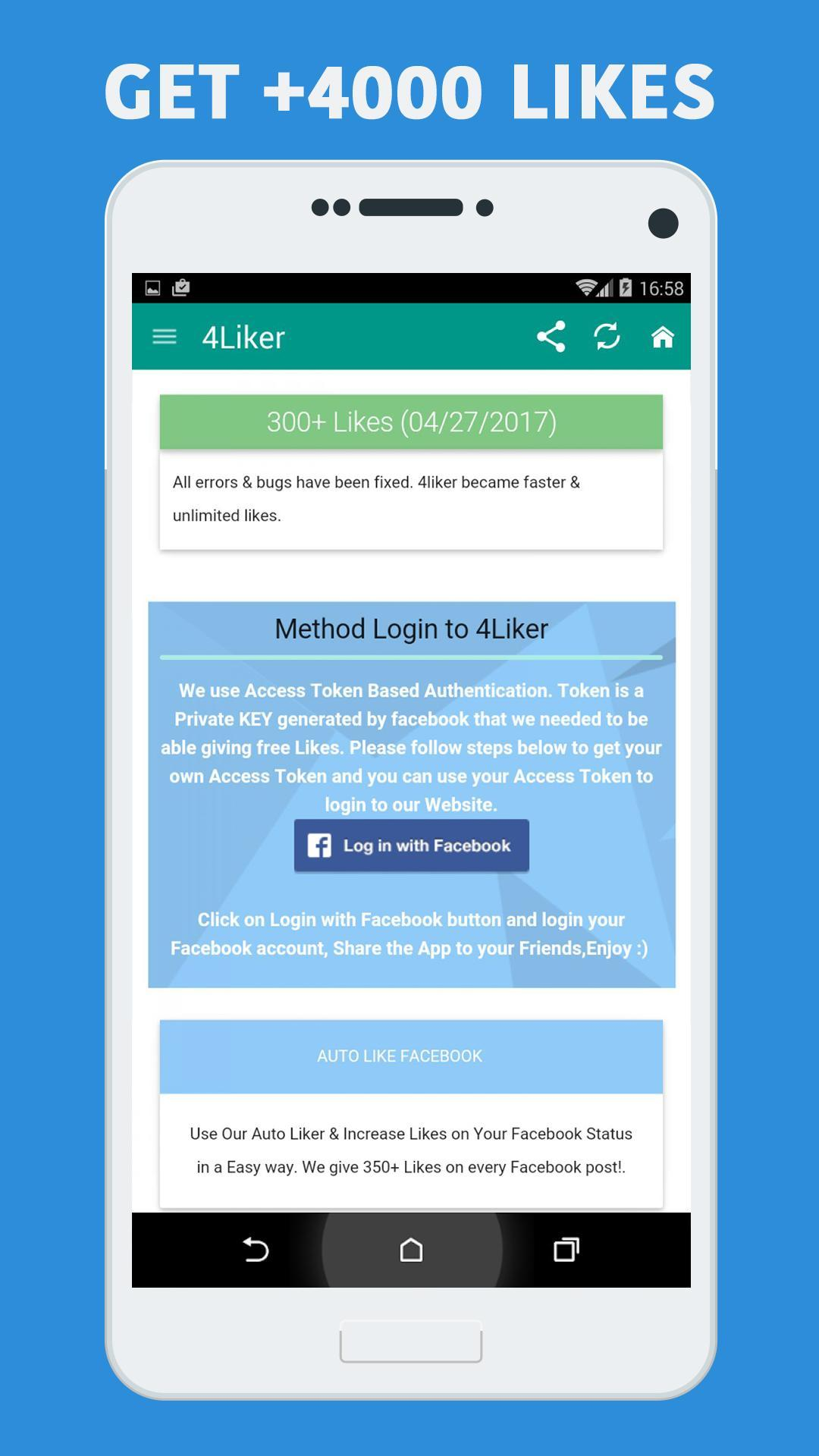 4liker for Android - APK Download