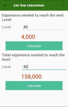 Clash Gems Calculator 2017 apk screenshot