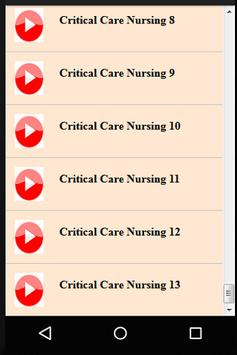 Intensive Medicine & Critical Care Nursing screenshot 5