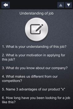 Job Interview Questions Pro apk screenshot
