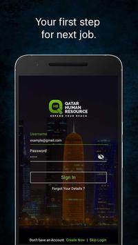 Qatar Human Resource poster