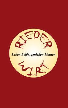 Rieder Wirt poster
