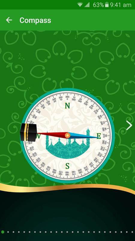 Qibla Compass Live Wallpaper Apk Screenshot