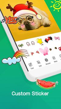 Hoppin Keyboard - Emoji,Themes,Gif,Stickers apk screenshot