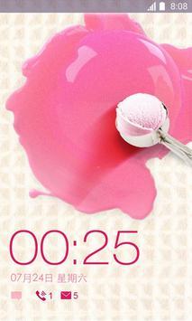 360 Launcher-Ice cream poster