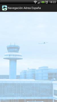 Navegación aérea España poster