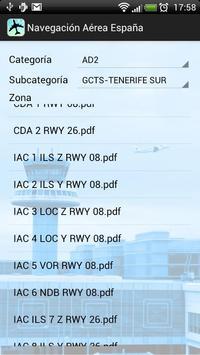 Navegación aérea España screenshot 1