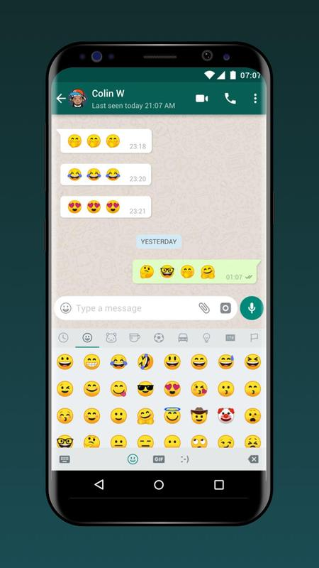 sending stickers on whatsapp