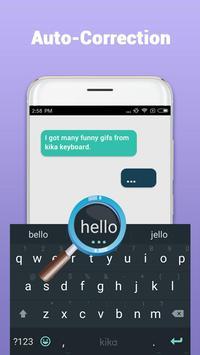 Kika Teclado - Emoji, GIFs apk imagem de tela